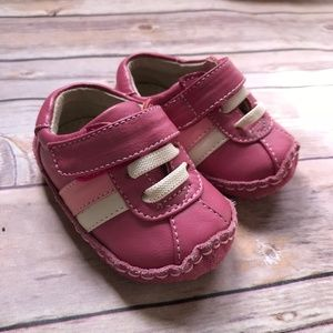 Smaller See Kai Run Pink Soft Sole Suede 0-6 mo